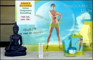 Cellulite gerahmt