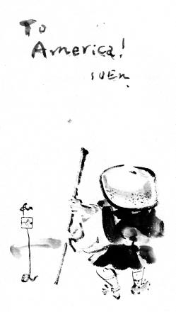 Kalligraphie, Soen Nakagawa Rōshi