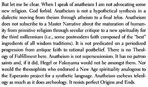 Kearney, Anatheism